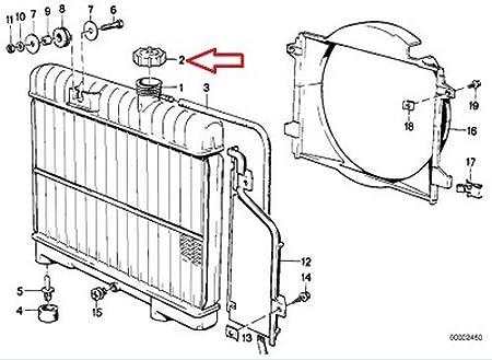 amazon bmw genuine radiator expansion tank cap 1 2 bar 1983 BMW 740I amazon bmw genuine radiator expansion tank cap 1 2 bar screw on type 633csi 528e 533i 318i 325e 325i automotive