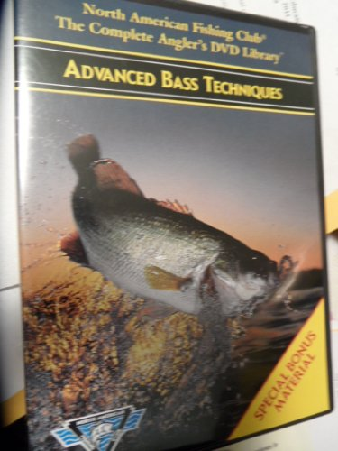 Advanced Bass Techniques Dvd! North American Fishing Club, Complete Angler's Library