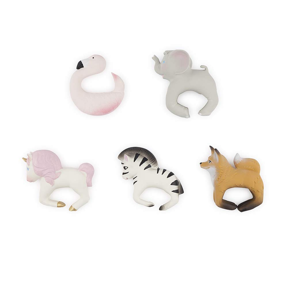 Stacy The Unicorn Oli /& Carol Chewable Bracelet White Oli/&Carol L-UNICORN-UNIT