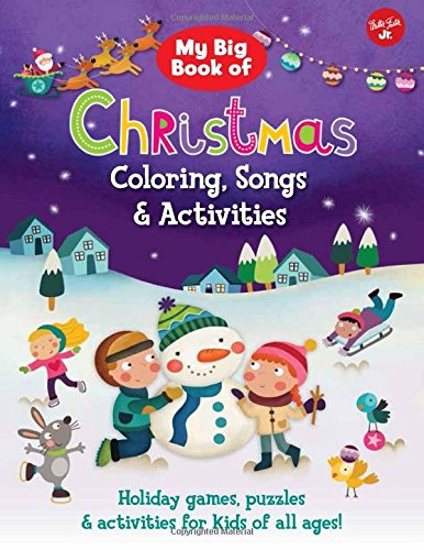 My Big Book of Christmas Coloring, Songs &