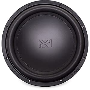 NVX 10-inch True 500 watt RMS Dual 2-Ohm Car Subwoofer [ VS Series ] Aluminum Shorting Ring [VSW102v2]