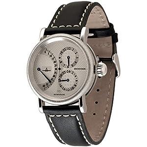 Zeno-Watch Mens Watch - Retrograde Retrograde + 24h Indication - Limited Edition - Retrograde-g3