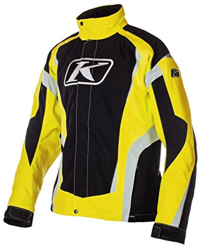 Klim KineticParka Men's Ski Snowmobile Jacket - Yellow/Large