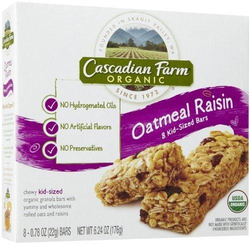 cascadian-farm-snacks-organic-chewy-granola-bars-box-oatmeal-raisin-kid-sized-624-ounce-by-cascadian