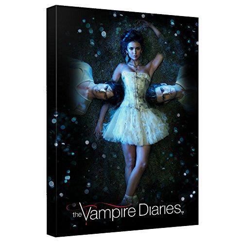 なぜをVampire Diaries–を–- - - - - - - - - - - - - - STRETCHED CANVAS FRAMED artwrap 20x30 Inches TR-WBT424-ADV2-20x30の商品画像