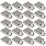 Whale GoGo 10 Pieces Small Stainless Steel Magnetic Cupboard Cabinet Catch Latch