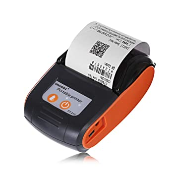 GBPHH Impresora termica 58mm Portátil Inalámbrico Bluetooth ...