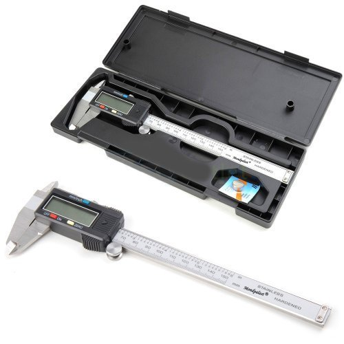 LCD Digitaler Messschieber Schieblehre 150mm +Inch +Etui Caliper