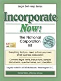 Incorporate Now!, Daniel Sitarz, 1892949008