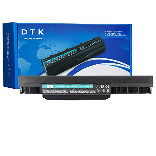 Dtk Laptop Notebook Computer Battery for ASUS A32-K53 A42-K53 K43 K53 X43 A83 A84 K54 K84 P43 P53 X44 X54 X84 X84H Series Battery (A32-K53) Dtk Computer