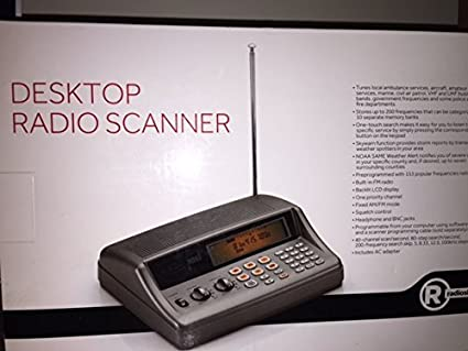 Magnificent Radio Shack Pro 650 Desktop Radio Scanner Interior Design Ideas Ghosoteloinfo
