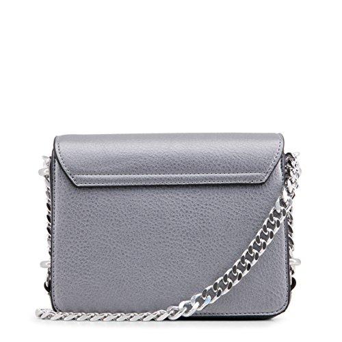 Genuine £204 Versace Designer Grey Crossbody Bag Body Women 00 Cross RRP Bag Jeans PprYHP