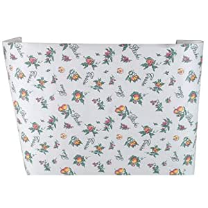 Kittrich 10F-174-12 10â x 10' Magic Cover M'Lady No Bugs Paper Shelf & Drawer Liner, Orchard