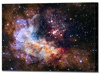 amazon westerlund star cluster space art canvas wall art