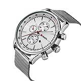 CURREN Men's Wrist Watches Business Quartz WristWatch 3ATM Daily Water Proof Wristwatch Black/Silver/Gold