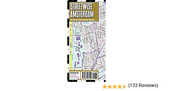 Streetwise Amsterdam Map Laminated City Center Street Of: Streetwise Amsterdam Map At Infoasik.co