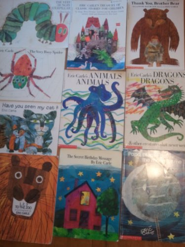 The Very Busy Spider the Very Hungry Caterpillar Have You Seen My Cat Treasury of Classic Stories for Children Thank You Brother Bear Animals Animals Dragons Dragons Papa Please Get the Moon for Me the Secret Birthday Message 1,2,3 to the Zoo 10 Book