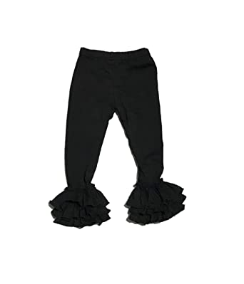 39edd845b43a8 Amazon.com: Triple Ruffle Bell and Icing Leggings - Baby, Toddler ...