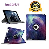 Best Ipad 3 4 Covers - iPad 2/3/4 Case - 360 Degree Rotating St Review