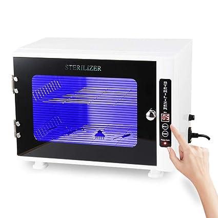 10L Estetica UV Esterilizador de Toallas Gabinete Belleza Salón SPA Facial Desinfección Ultravioleta Desinfectante para Masaje