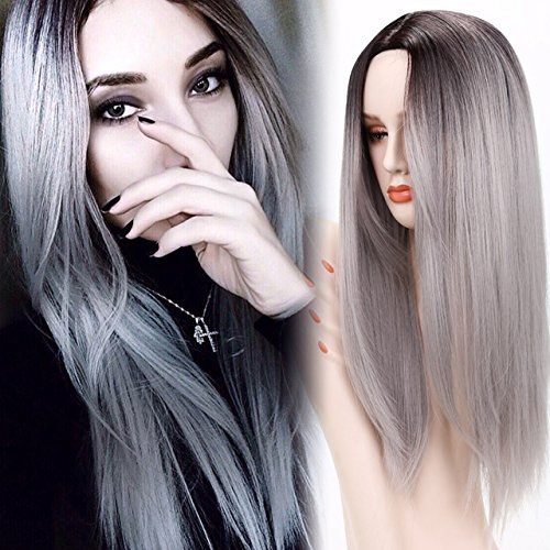 Netgo Ombre Roots Straight Synthetic