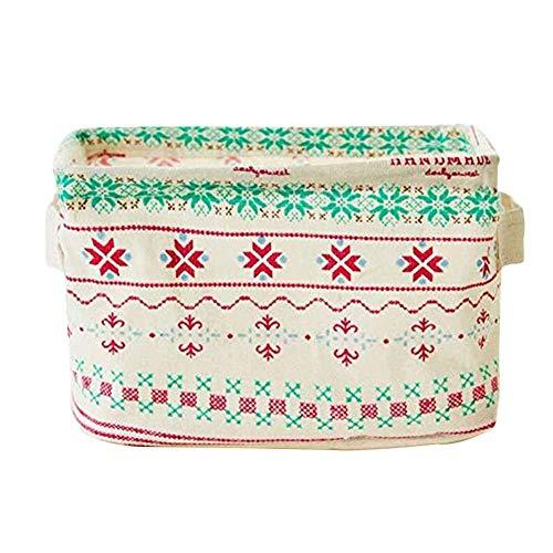 Foldable Storage Bin Closet Toy Box Container Organizer Fabric Basket