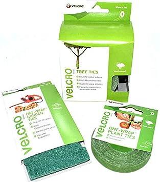 GENUINE VELCRO® PLANT TIE GARDEN TREE ONE WRAP CABLE TIES WEATHERPROOF 3