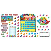 Trend Enterprises Blockstars! Calendar Bulletin Board Set (T-8381)