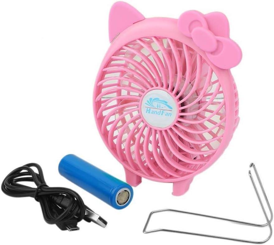 Color : Black, Size : 118.53.7cm 3 Gear Speed USB Handheld Multifunctional Fan Desktop Office Portable Fan GAOFENG Mini Fan