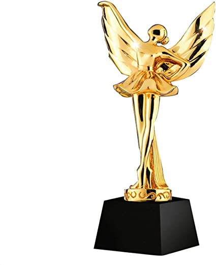 Metal Dancing Trophy