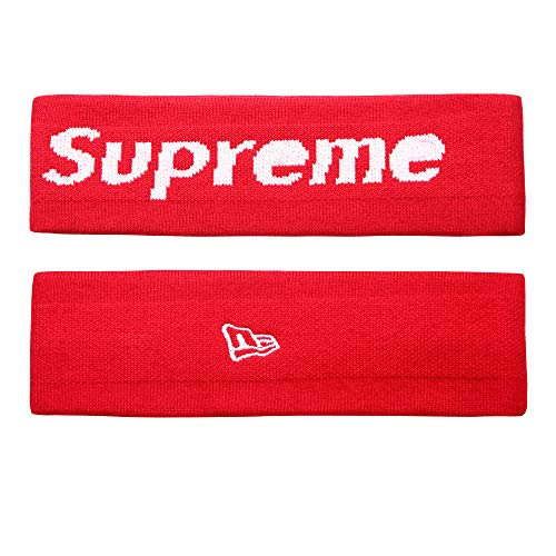 The Mass Sweatband Headband Perfect for Basketball, Running, Football, Tennis-Fits for Men and Women (Red) – DiZiSports Store
