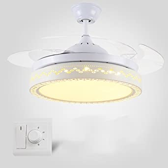 Liuyu · Modernes Deckenventilatorlicht Unsichtbares Ventilatorlicht ...