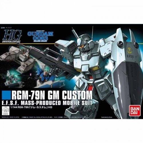 Bandai HGUC120  1/144 High Grade Universal Custom HGUC GUNDAM GM Custom 0083 Stardust Memory