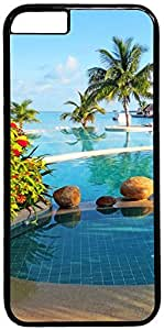 Beach Vacation Retro Vintage Design iPhone 6 (4.7 inch) Hard Shell Case Cover by iCustomonline by runtopwell