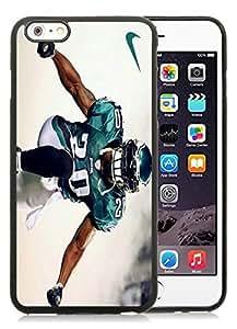 Philadelphia Eagles 01 Black Silicone PC Case Cover For SamSung Galaxy S6 Phone Cover Case