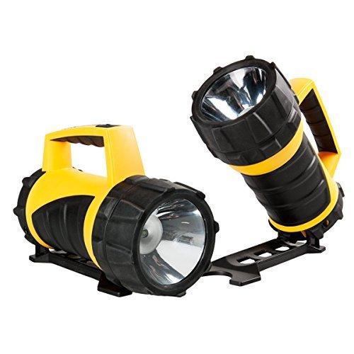 2 Rayovac Professional Industrial LED Flashlight Lantern Waterproof 110 -