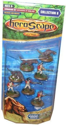 SOLDIERS AND WOLVES Wizards of the Coast 62031 Heroscape Collection 8