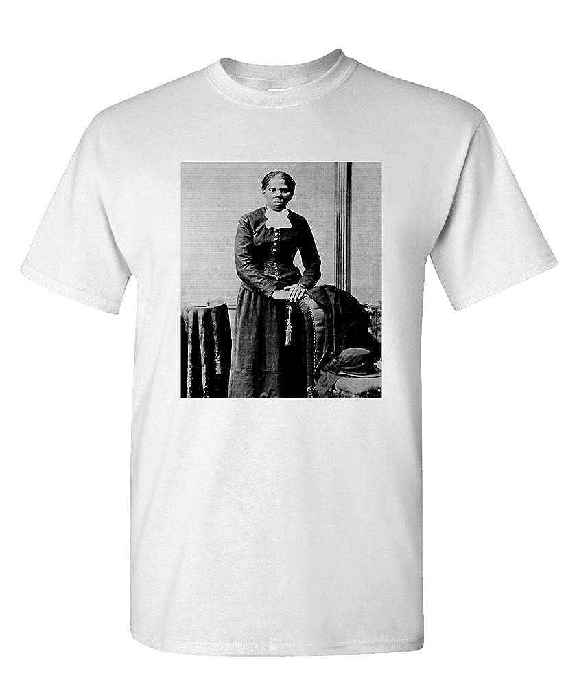 Mens Cotton T-Shirt Civil Rights Slavery war Hood Ornaments Harriet Tubman