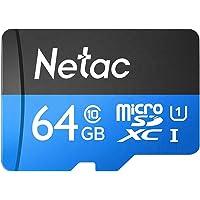 Loijon 64 GB TF Cartão Micro SD Cartão de Grande Capacidade UHS-1 Class10 Câmera de Cartão de Memória de Alta Velocidade…