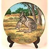 WS George plate The Bridled Wallaby by Will Nelson CP768