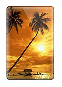 Miri Rogoff's Shop 5110380K57431782 Perfect Tpu Case For Ipad Mini 3/ Anti-scratch Protector Case (pigeon Point At Sunset)