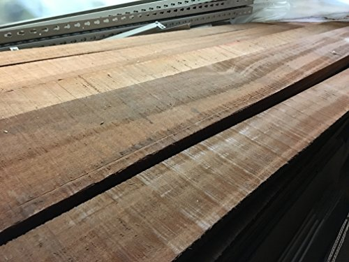 Mahogany rough sawn wood boards lumber inches feet