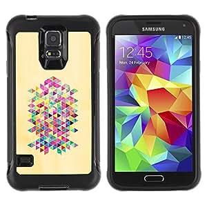 Pulsar iFace Series Tpu silicona Carcasa Funda Case para Samsung Galaxy S5 V , Teal rose