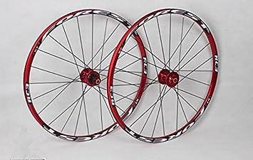 RC3 borde MTB bicicleta de montaña rueda Ultra luz frontal 2 trasera de 5 rodamientos sellados Hub disco ruedas ruedas: Amazon.es: Deportes y aire libre