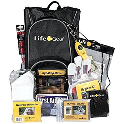 Life+gear Lg492 Day Pack Emergency Survival Backpack Kit from LIFE+GEAR