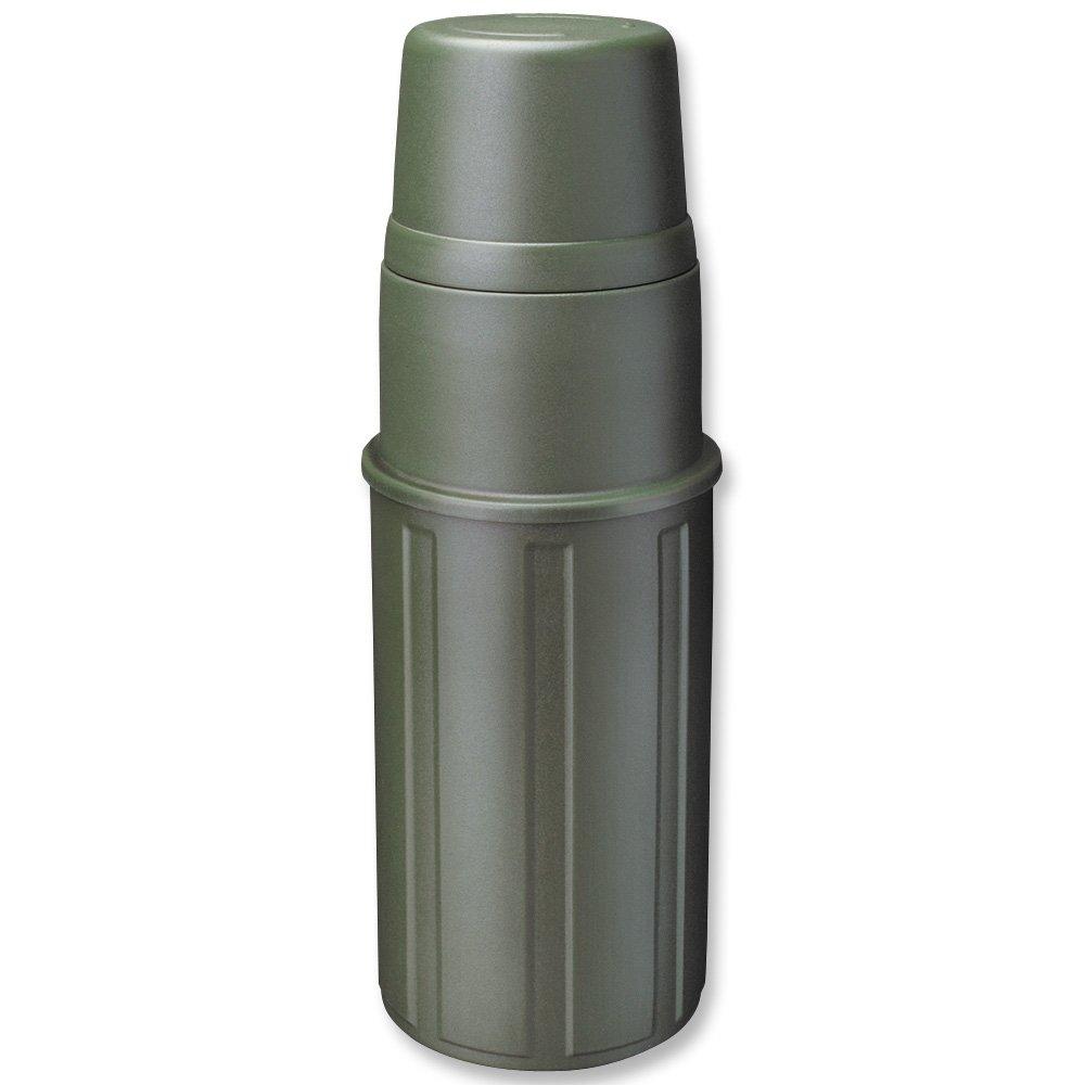 Isosteel VA-9810P Thermos 1 L rivestimento in plastica e acciaio INOX 18/8, colore: Verde