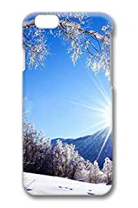 iPhone6/6S Case,[4.7Inch]Hard Plastic Bumper,Full-Body Rugged 3D Print Technology Case,Hybrid Fancy Colorful Pattern,Tough Armor Case,Interior Cover,Non-slip Case-Charming Landscape 6