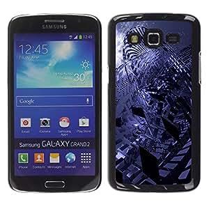 Stuss Case / Funda Carcasa protectora - Erratic Abstract - Samsung Galaxy Grand 2