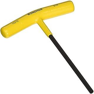 "product image for Bondhus 45210 3/16"" Hex Tip T-Handle w/ProGuard Finish, 6"""