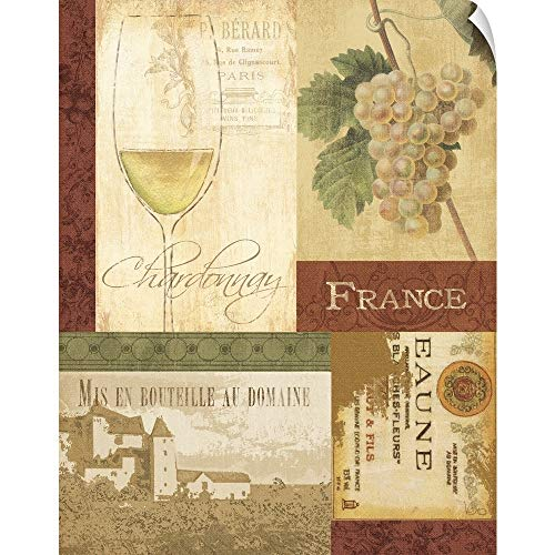 CANVAS ON DEMAND Wine Valley I Wall Peel Art Print, 38
